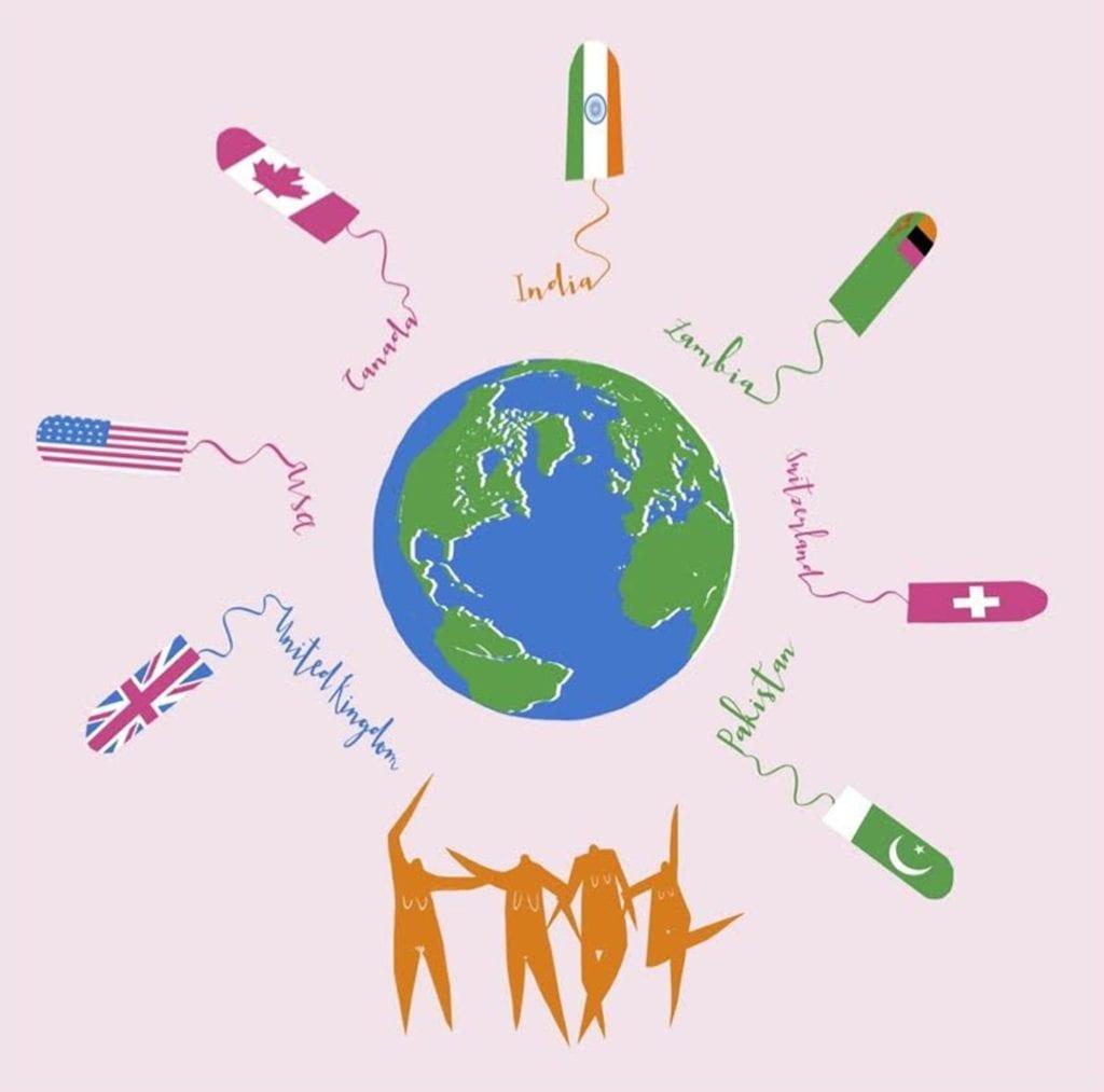 15 expressions à travers le monde pour parler des règles