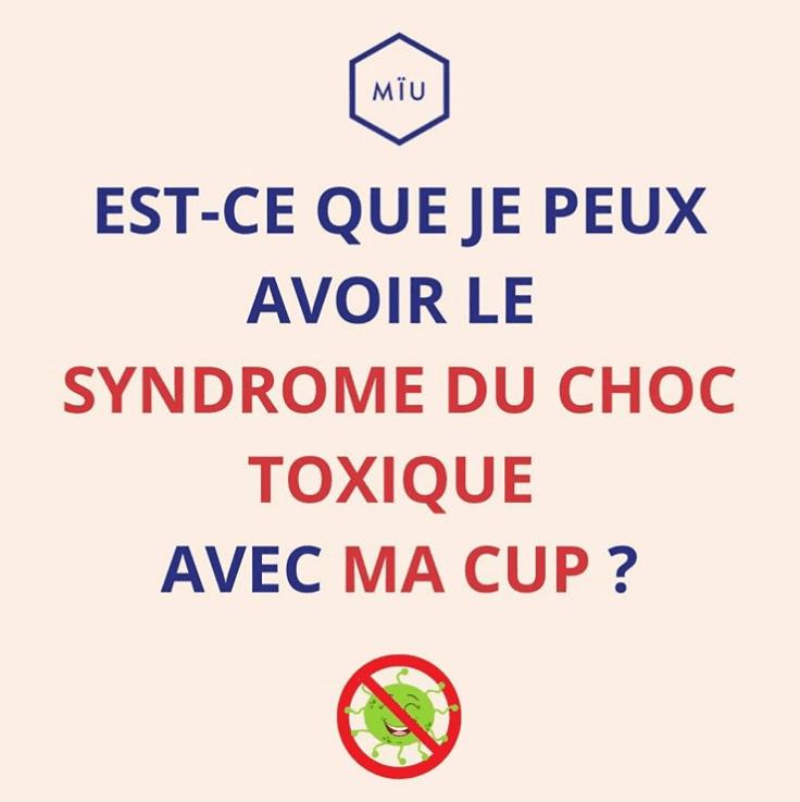 syndrome du choc toxique coupe menstruelle