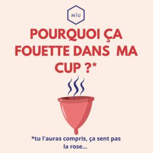 odeur cup
