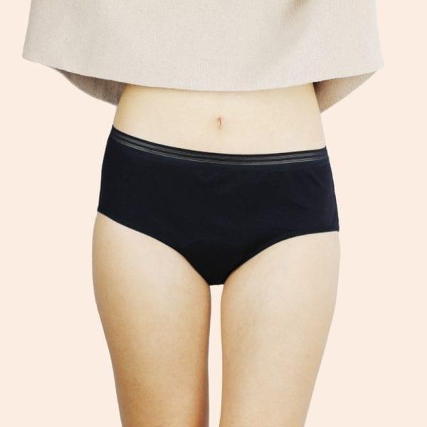 shorty menstruel la glandeuse noir