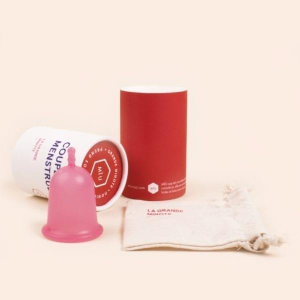 grande coupe menstruelle souple