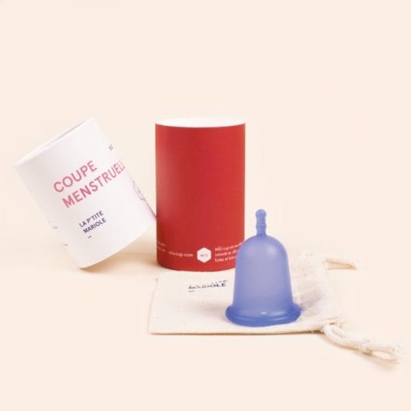petite coupe menstruelle sportive