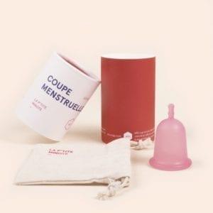 petite coupe menstruelle souple