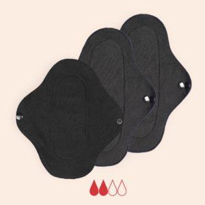 pack serviettes périodiques flux moyen